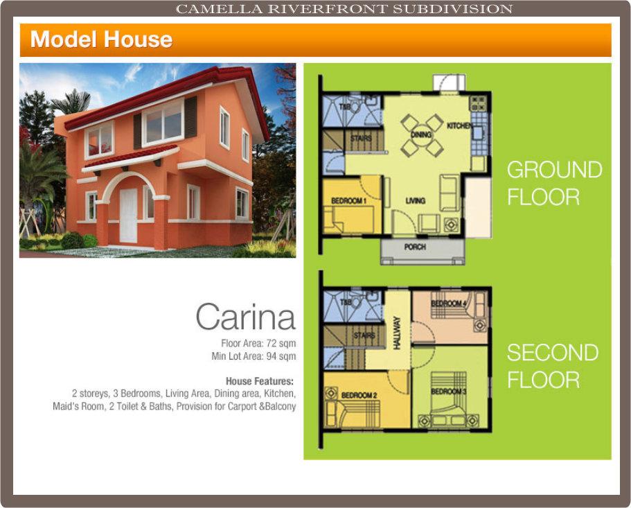 Carina model house camella